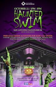 halloween city website haunted swim the city of san antonio official city website