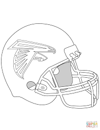 nfl coloring pages denver broncos helmet football team page