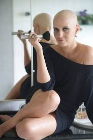 bald women flickr another mature woman looking great bald flickr bald girl