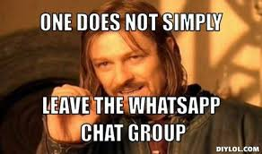 Group Chat Meme - 7 types of people you will find in a group chat kuulpeeps