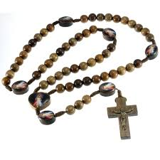 wooden rosaries wooden mercy rosary my rosary