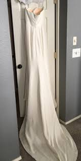 sarah janks bella gown size 4 wedding dress u2013 oncewed