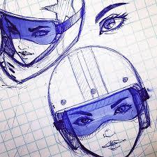 art of drive viet nguyen motorcycle sketches u2014 fuel tank