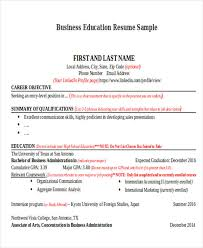Resume In Job by 14 Education Resumes In Word Free U0026 Premium Templates