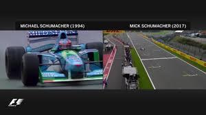 formula 3 vs formula 1 michael schumacher u0027s son