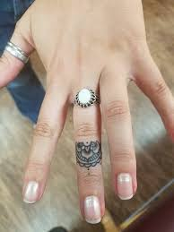 my mandala finger tattoo tattoo pinterest mandala finger