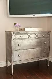 Metal Bedroom Dresser 10 Best Metallic Furniture Images On Pinterest Painted Furniture