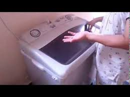 how to use a semi automatic washing machine youtube