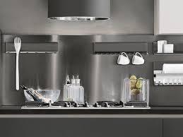 metal kitchen backsplash metal kitchen backsplash magnetika kitchen by ronda design design