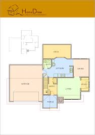 draw house plans conceptdraw sles floor plan and landscape design