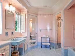 Bathroom Looks Winona Ryder U0027s Spanish Style Home For Sale In L A Art Deco