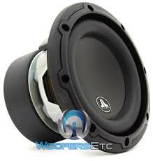 jl audi jl audio 6w3v3 4 sub 6 5 300 watts 4 ohm car subwoofer bass