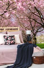 12 best garden wall mural ideas for living rooms bedrooms cherry blossom trees wall mural