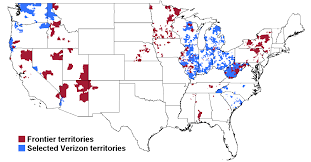 Internet Coverage Map Popular 197 List Fios Availability Map