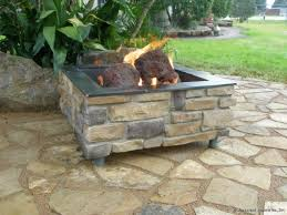 Brick Fire Pits by How To Build A Brick Fire Pit With Gas Fire Pit Design Ideas