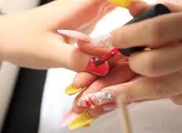 what are acrylic nails with pictures