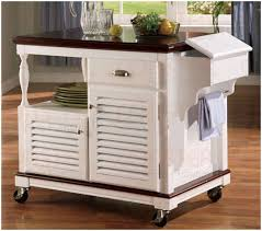 kitchen white kitchen cart with butcher block top crosley white