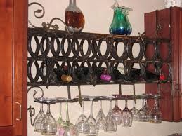 Wine Cellar Shelves - interior wine bottle rack silver wine rack wood wall wine rack