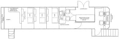 Fifth Wheel Trailers Floor Plans by Star Waggons U2013 Fifth Wheel Viewing Trailer 40ft Vt