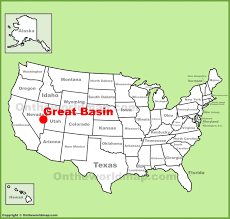 map us parks great basin maps usa maps of great basin national park