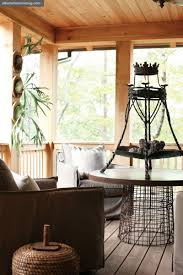 beths country primitive home decor love this idea for coffee table get large wire basket and put