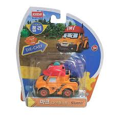 robocar poli mark diecast car robot genuine toy action figure