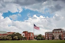 Missippi State Flag Beautiful Day Beautiful Campus Mississippi State University
