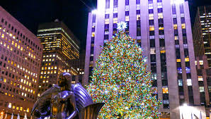 Rockefeller Tree Holidays In New York City Rockefeller Center Tree O Holy