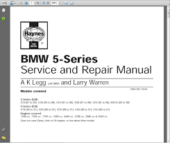 bmw 3 series e28 e34 1981 to 1991 service and repair manual ebay