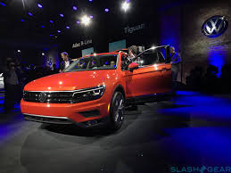 volkswagen suv 3 rows 2018 volkswagen tiguan long wheelbase compact adds much needed