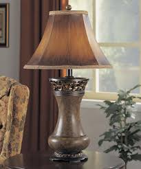 rustic lamps u0026 log cabin lodge and western lamp collection