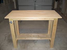Simple Work Bench Ana White Sturdy Work Bench First Project Completed Diy