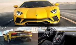 lamborghini sports car price in india lamborghini aventador s launched price in india is inr 5 01 crore