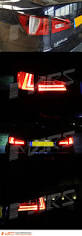 lexus is tail lights clear red led 3d stripe bar tail lights for lexus isf is250 is350