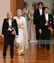 japanese royal family attend new year ceremony photos and images