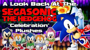 a look back at the segasonic the hedgehog celebration plushes