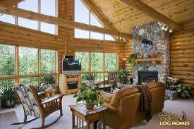 golden eagle log homes log home cabin pictures photos custom great room exterior wall