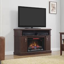 Fireplace Console Entertainment by Dwell Infrared Electric Fireplace Entertainment Center In Midnight