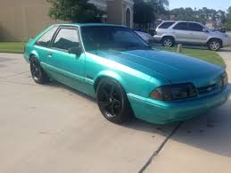 1993 mustang lx for sale 1993 ford mustang lx 5 0 5 speed calypso green with black