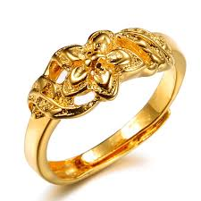 gold jewelry rings images Opk low price real 18k gold plated finger ring fashion new 2014 jpg