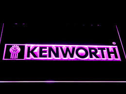 kenworth truck logo trucks led signs my trendy bay