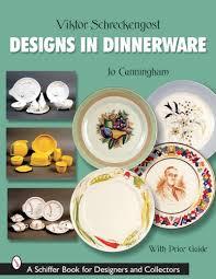book plates dishes victor schreckengost designs in dinnerware schiffer book for