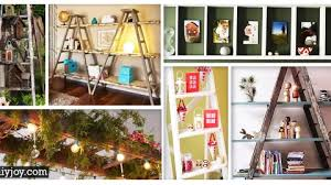 45 ingenious ways to v up your vintage decor with ladders diy