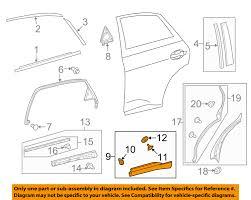 lexus spare parts oem lexus toyota oem rx350 rear door body side lower molding trim