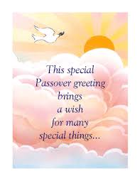 special wishes passover printable card blue mountain ecards