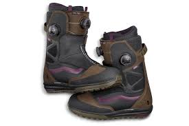 light up snowboard boots first look vans breathable variable flex snowboard boot