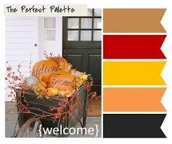 Autumn Color Schemes 342 Best Wedding Colours Images On Pinterest Wedding Color