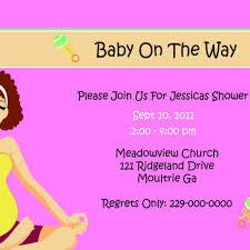 Special Invitation Cards Baby Shower Invitation Card Dancemomsinfo Com