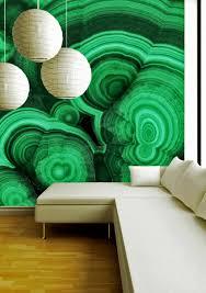 collezione malachite verde rare mineral wallpaper by brenda