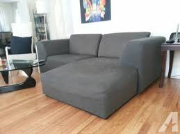 Small Chaise Sectional Sofa Awesome Small Midsize Grey Sectional With Chaise For Sale In
